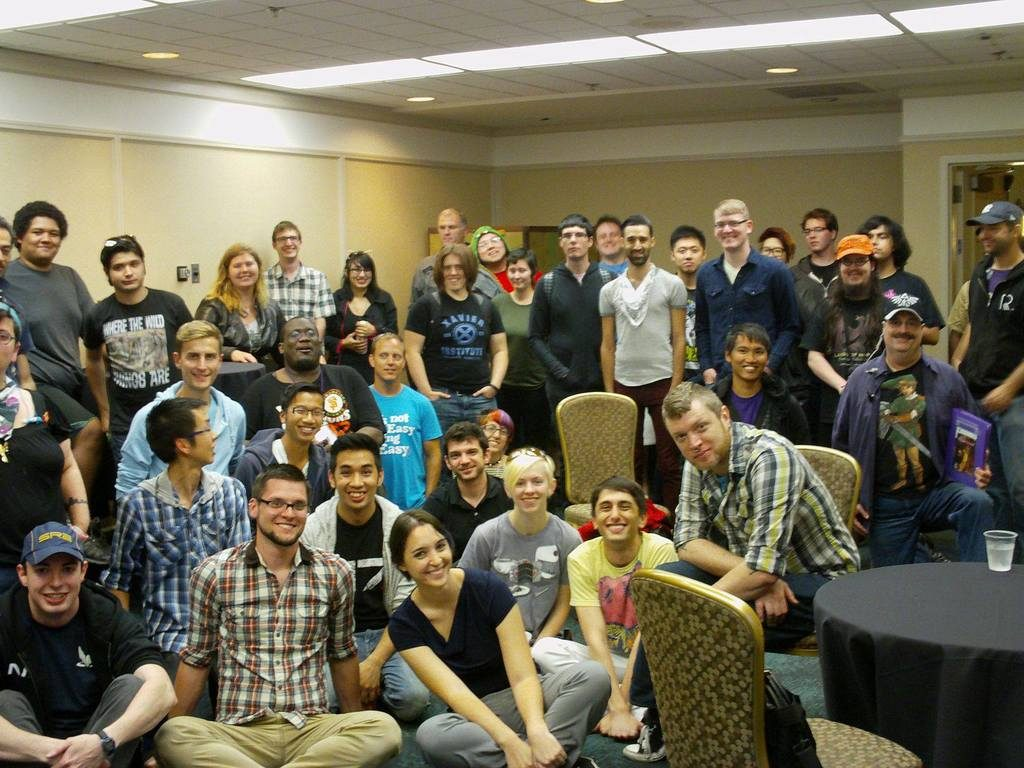 The very first Sprite training at GaymerX in 2013!