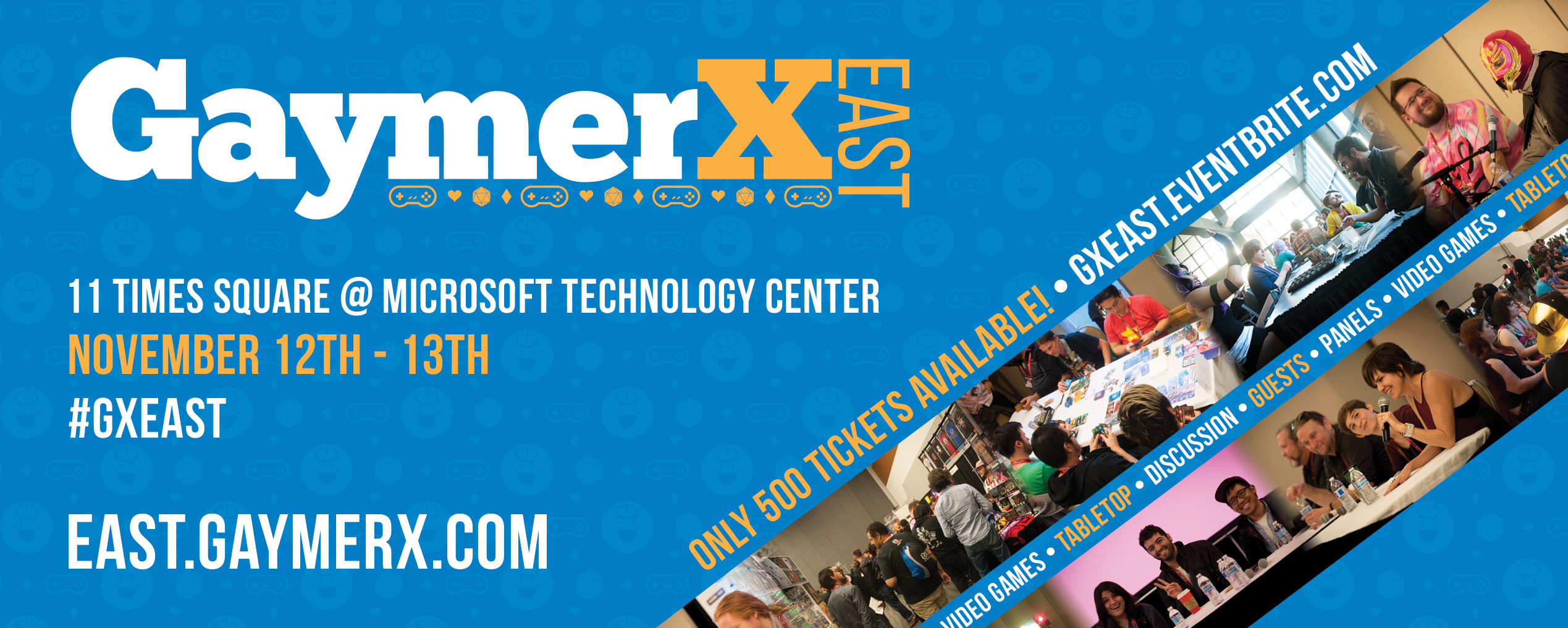 Announcing: GaymerX East!